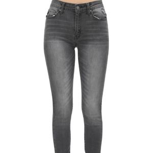 Kan Can Gray Skinny Jeans